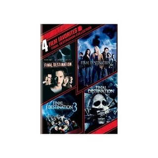 4 FILM FAVORITES-FINAL DESTINATION 1-4 (DVD/2 DISC/ECO)