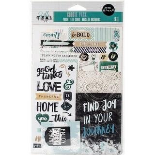 My Prima Planner Goodie Pack Embellishments-Zella Teal