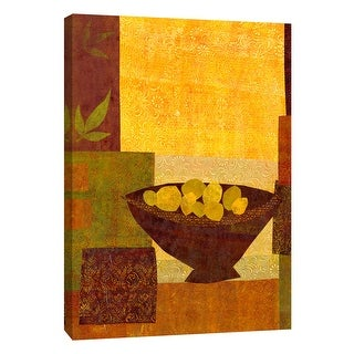 """PTM Images 9-108834  PTM Canvas Collection 10"""" x 8"""" - """"Autumn Reminiscences I"""" Giclee Fruits & Vegetables Art Print on Canvas"""