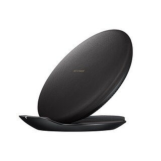 Samsung Fast Charge Wireless Charging Convertible Stand W/ AFC Wall Charger, Black
