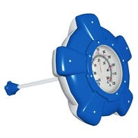 Blue Floating Swimming Pool Dial Thermometer
