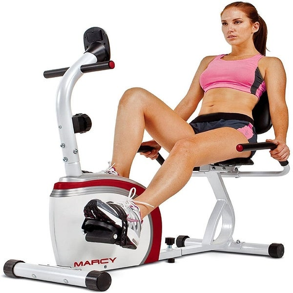 Creative K Recumbent Exercise Bike with Magnetic Resistance and Pul - Medium. Opens flyout.