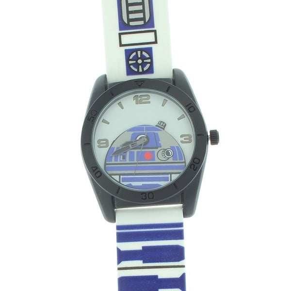 Star Wars R2D2 Men's Rubber Strap Analog Watch
