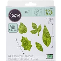 Sizzix Bigz Dies Fabi Edition-Lots Of Leaves By Jorli Perine