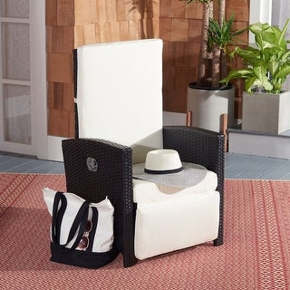 Link to Safavieh Outdoor Herdla Recliner Chair Similar Items in Patio Furniture