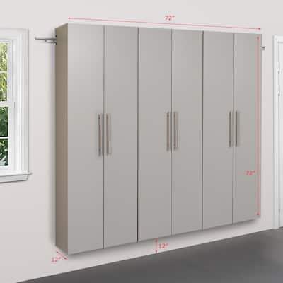Prepac HangUps 72-inch Storage Cabinet Set C - 3-pc