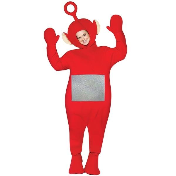 Shop rasta imposta teletubbies po adult costume red one size rasta imposta teletubbies po adult costume red one size solutioingenieria Image collections