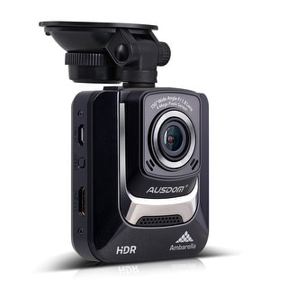 AUSDOM Dash Cam-2.4 Inch LCD Car DVR with Loop Recording,Parking Monitor Camera Video Recorder for Vehicle