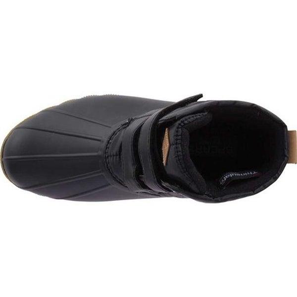 Saltwater Jetty Snow Boot Black Textile
