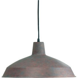 Quorum International Q6822 1 Light Industrial Barn Style Indoor Pendant - 16 Inches Wide