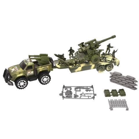 WonderPlay F/P Military Car Set Little Kid 4 - 6 years - Green