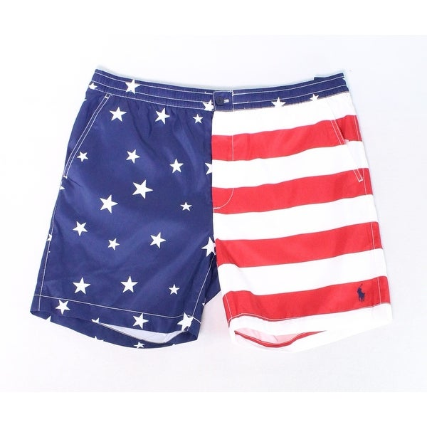 fd26ce9223 Shop Polo Ralph Lauren Mens Small American Trunks Swimwear - Free Shipping  On Orders Over $45 - Overstock - 28257698