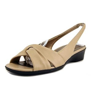Life Stride Mimosa 2 WW Open-Toe Synthetic Slingback Sandal|https://ak1.ostkcdn.com/images/products/is/images/direct/bf04a38b8cc8facdb07fd79383b458bbf26ddf65/Life-Stride-Mimosa-2-Women-WW-Open-Toe-Synthetic-Tan-Slingback-Sandal.jpg?impolicy=medium