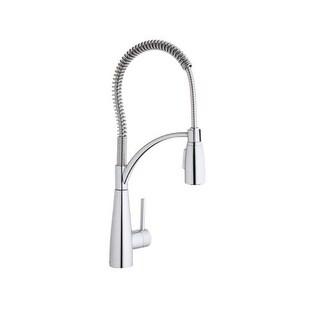 Elkay LKAV4061 Avado Pre Rinse Pullout Spray Kitchen Faucet With  Multi Function Spray Head