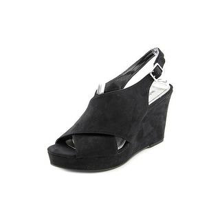 Style & Co Stilla Open Toe Synthetic Wedge Sandal