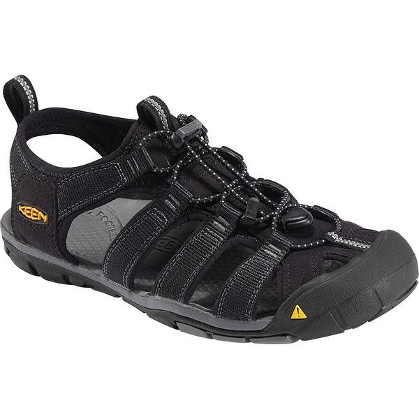Keen CLEARWATER CNX - Walking sandals - black/gargoyle