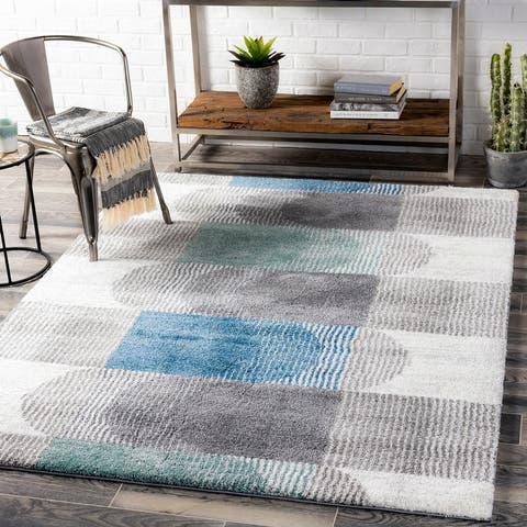 Speques Modern Plush Area Rug