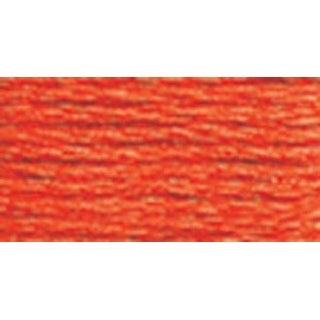 Bright Orange - DMC Pearl Cotton Skein Size 3 16.4yd