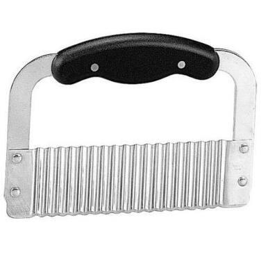 "Hutzler 43130 Crinkle Cut Wave Slicer With Handle, 8"" x 4 1/2"""