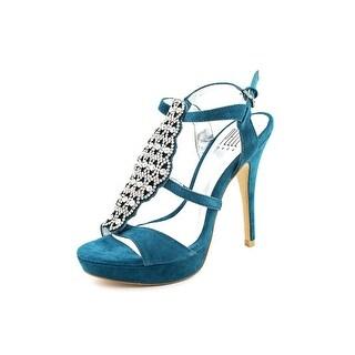 Pelle Moda Fiby   Open-Toe Suede  Heels