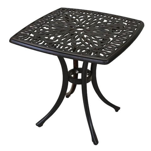 Havenside Home Saybrook Cast Aluminum End Table