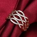 White Gold Horizontal Infused Ring - Thumbnail 3