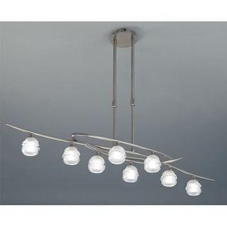 Mantra Lighting 1810 Loop 8 Light 1 Tier Chandelier