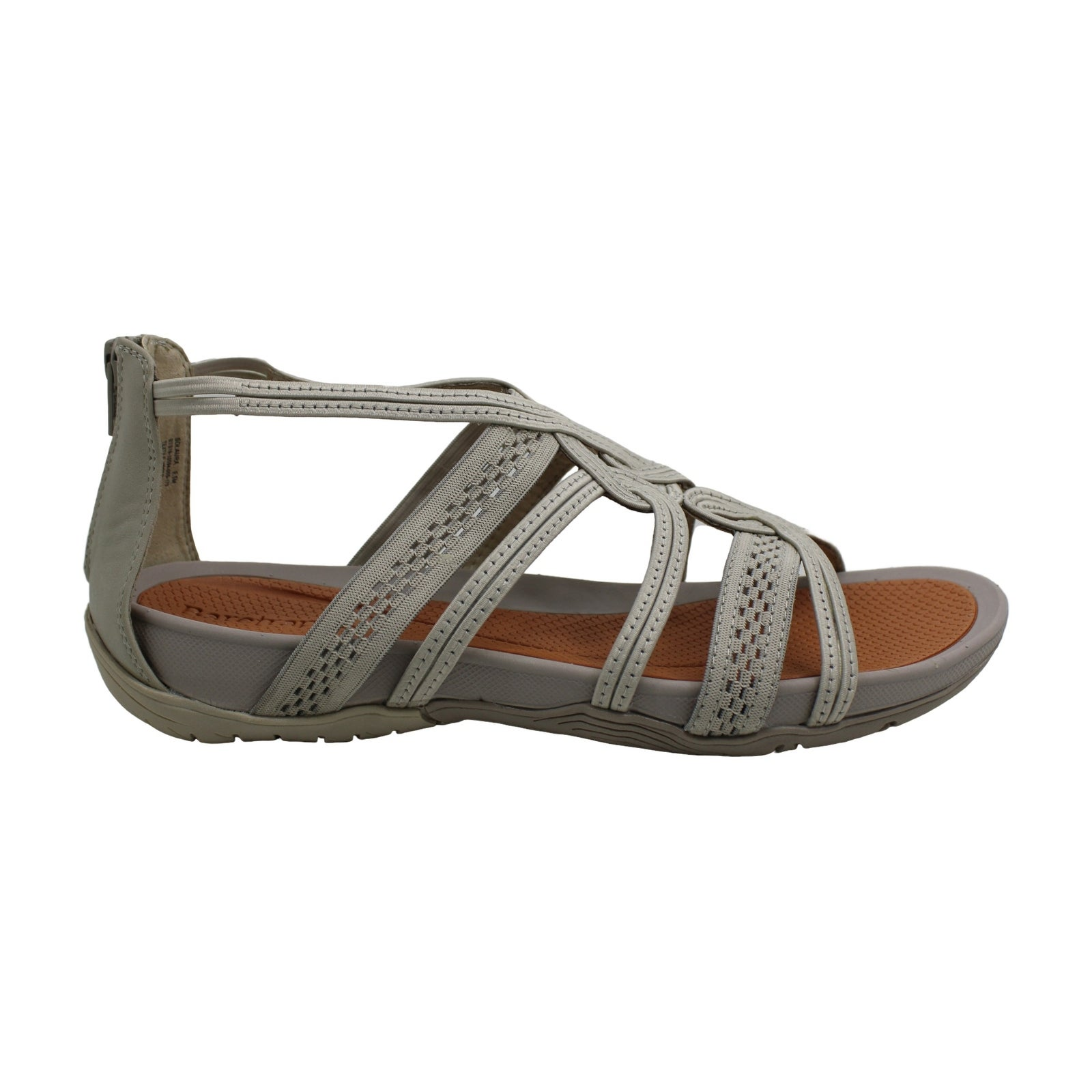 Size 6.0 Bare Traps Womens Solaura Fabric Open Toe Casual Strappy Tan 1