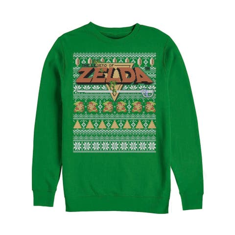 Legend of Zelda Tight Forces Ugly Christmas Sweater