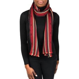 Missoni SCR5WOU5074 0003 Red/Brown 100% Wool Womens Scarf