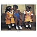 ''He's Mine'' by Laurie Cooper African American Art Print (14 x 17 in.) - Thumbnail 0