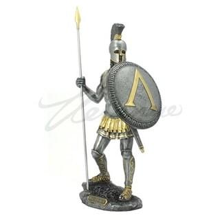 Unicorn Studios WU75963A7 Spartan Warrior with Spear & Hoplite Shield