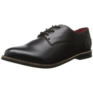 SoftWalk Womens Maine Contrast Trim Plain Toe Oxfords