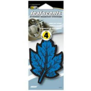 Auto Expressions 5074750 Leaf Scent Air Freshener, New Car