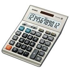 """Casio DM-1200BM Casio DM-1200BM Simple Calculator - Battery/Solar Powered - 1.4"" x 6.1"" x 8.2"""""