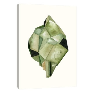 """PTM Images 9-105687  PTM Canvas Collection 10"""" x 8"""" - """"Faceted Gem B"""" Giclee Abstract Art Print on Canvas"""