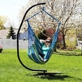 Sunnydaze Jumbo Hanging Chair Hammock Swing - Thumbnail 3