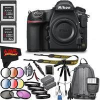 Nikon D850 DSLR Camera (Body Only) 1585 International Model + Sony G Series 32GB XQD Memory Card, 400MB/s Write Speed Bundle