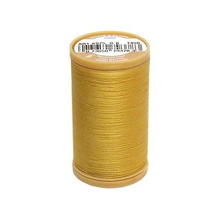 S975 7450 Coats Cotton Machine Quilting 350yd Temple Gold