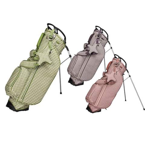 OUUL Women Checkwave Stand Bag