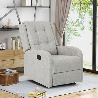 Link to O'Leary Traditional Upholstered Recliner by Chirstopher Knight Home Similar Items in Living Room Furniture