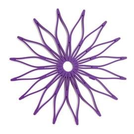 HIC 16816 Spice Ratchet Blossom Multi, Use Silicone Trivet, Purple