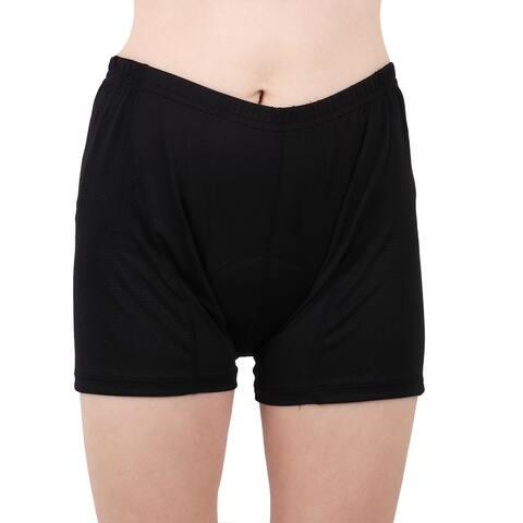 JING TANG Authorized 3D Padded Biking Underpants Cycling Shorts Black L/M(US 6)