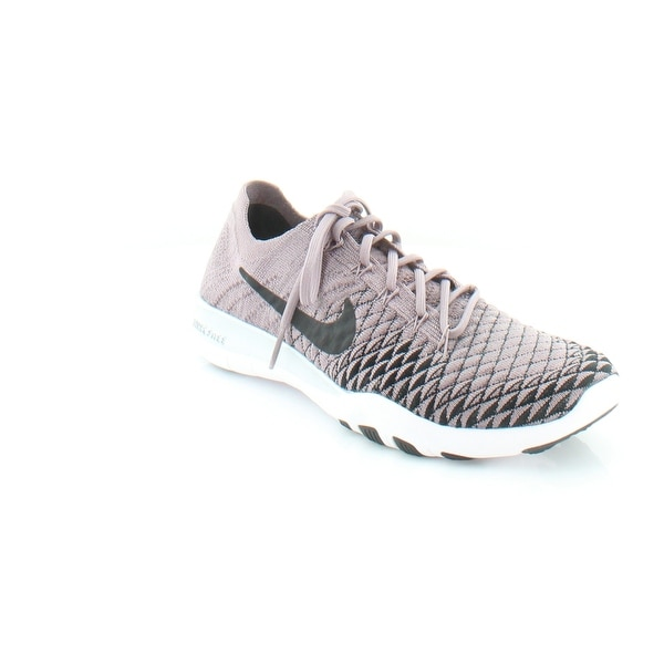 sale retailer 6a16a 6ab87 Shop Nike Free Tr Women's Athletic Taupe Grey/Black-Chrome ...