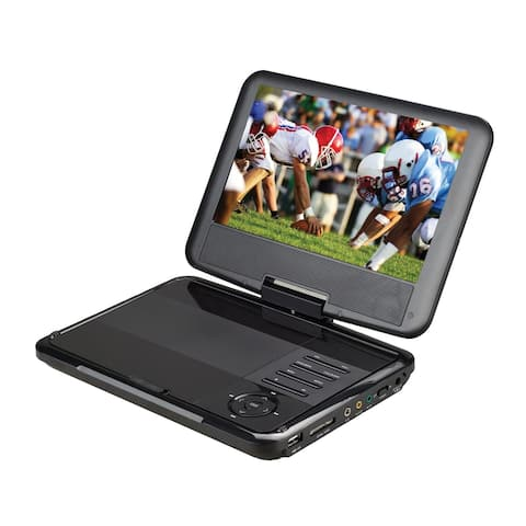 Supersonic 9-Inch Portable DVD Player with Tuner