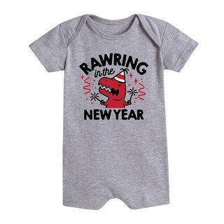 Rawring In New Year - First New Year Infantromper