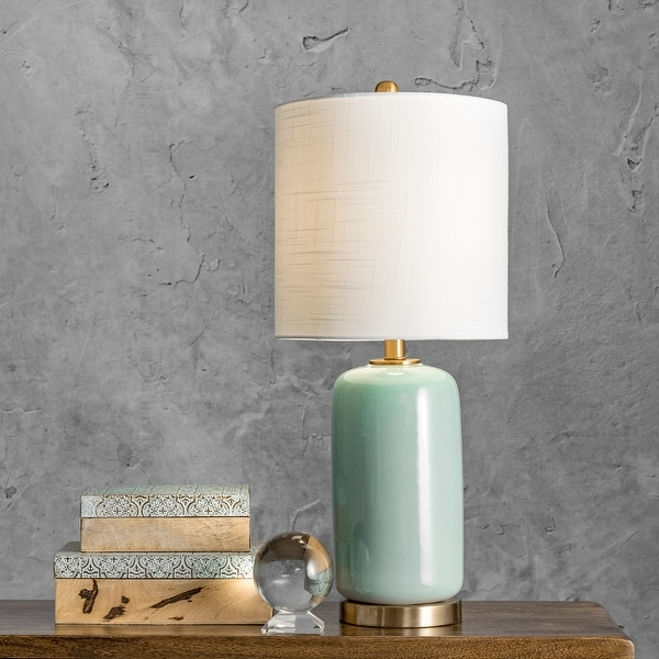 """nuLOOM Bell 26"""" Ceramic Table Lamp. Opens flyout."""