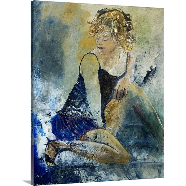 """Young Girl 569040"" Canvas Wall Art"