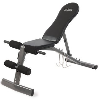 Akonza Adjustable Weight Bench Dumbbells Lifting Incline Decline Flat Press ABS Workout Equipment