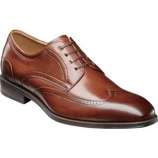 Florsheim Men's Amelio Wingtip Oxford Cognac Leather